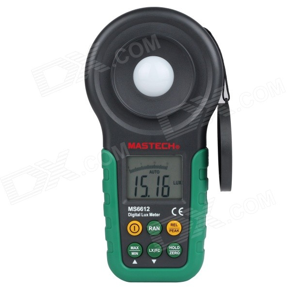 "1.7"" LCD Digital Luxmeter - Green (1 x 9V/6F22)"