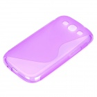 Protective PVC Case for Samsung Galaxy S3 / i9300 - Purple