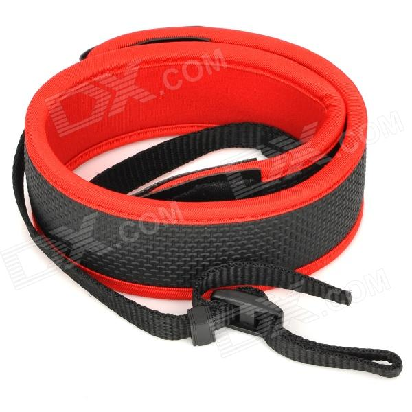 Stylish Anti-Slip Shoulder Strap for Canon DSLR Camera - Red multicolored anti slip nylon shoulder strap for slr dslr camera black