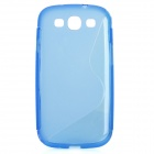 Protective PVC Plastic Case for Samsung Galaxy S3 / i9300 - Blue