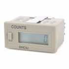 "DHC3J 1.1"" LCD Digital Counter - Grey + Black"