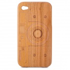 Protective Walnut Wood Case for Iphone 4 / 4S - Brown