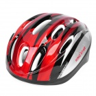 KING*STAR Vents Sports Cycling Helmet - Red + Silver (Size-S)