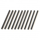 Double Row 80-Pin 2.0mm Pitch Pin Headers (10-Piece Pack)