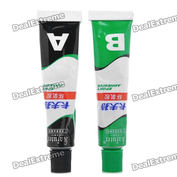 Kafuter Heavy Duty A+B Epoxy Adhesive Glue (20g / Pair) b7000super glue sealat 50ml multipurpose b 7000 adhesive epoxy resin diy jewelry crafts glass touch screen phone repair nail gel