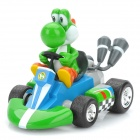 Cute Super Mario Dinosaur Figure Pull-Back Car Toy - Green
