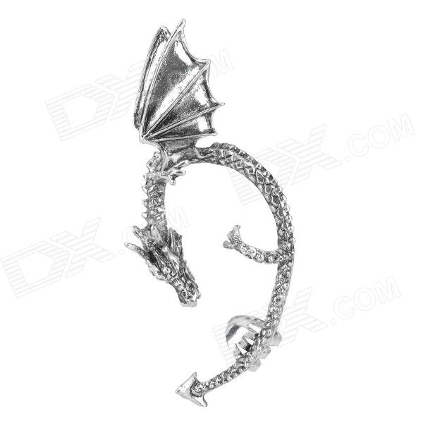 Cool Dragon Style Alloy Earring - Silver the charmer