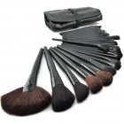 Professional 32pcs Cosmetic Make-up Brushes Set - Black