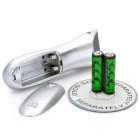 3-Mode Wireless Hair Clipper Trimmer with Accessories Set (2 x AA)