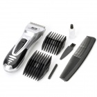3-Mode Hair Clipper Trimmer con Wireless Accesorios Juego (2 x AA)