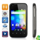 "T92i Android 2.3 GSM Bar Phone w/ 3.5"" Capacitive, Quad-Band, Dual-SIM and Wi-Fi - Black"