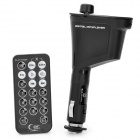 "1.0"" LCD Car MP3 Player Wireless FM Transmitter with Remote Controller - Black"
