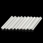 Optical Fiber Heat Shrinkable Tubes - White (10-Piece Pack)