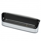Portable Cell Phone Charger Dock Station for HTC G21 - Black