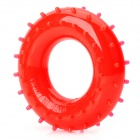 Rubber 40KG Hand Grip Ring Strength Exerciser -Red