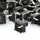 Mini Parte DIY 4 Pin-Tact Switches (100-Piece Pack)