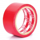 Self-Adhesive Hazard Warning PVC Tape - Red (4.5CM x 18M)