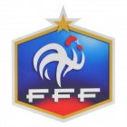 French National Soccer Team Logo Car Reflective Sticker - Blue + Silver + Red