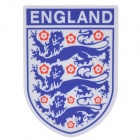 England National Soccer Team Logo Car Reflective Sticker - Blue + Silver + Red