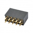 Double Row 10-Pin 2.54mm Pitch Pin Headers (10-Piece Pack)