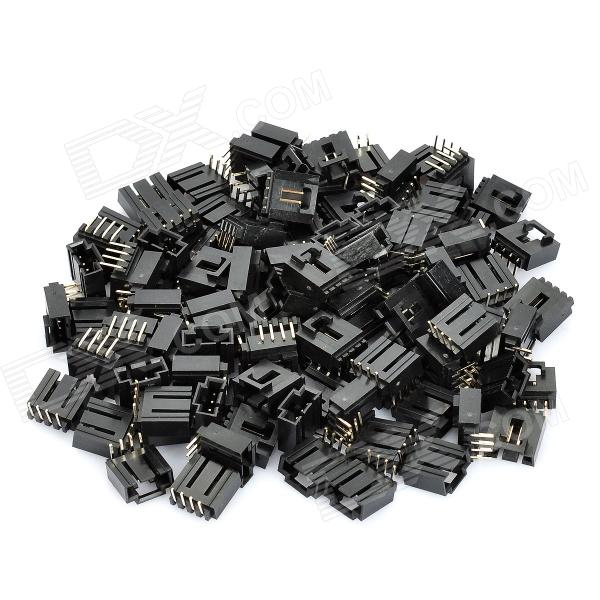 4-Pin 2.54mm Pitch Audio Connector Adapters (100-Piece Pack)