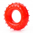 Rubber 50KG Hand Grip Ring Strength Exerciser -Red