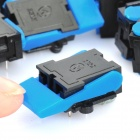 6-pin centrales telefónicas - Azul + Negro (20-Piece Pack)