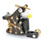 DT-225 Professional Low Carbon Steel Tattoo Machine Liner Shader Gun