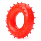 Rubber 30KG Hand Grip Ring Strength Exerciser -Red