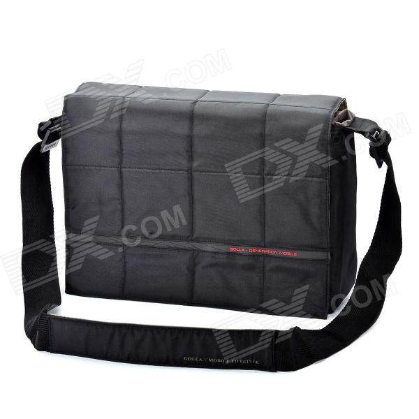 Genuine GOLLA 15.4 Inch Laptop Messenger Bag - Black