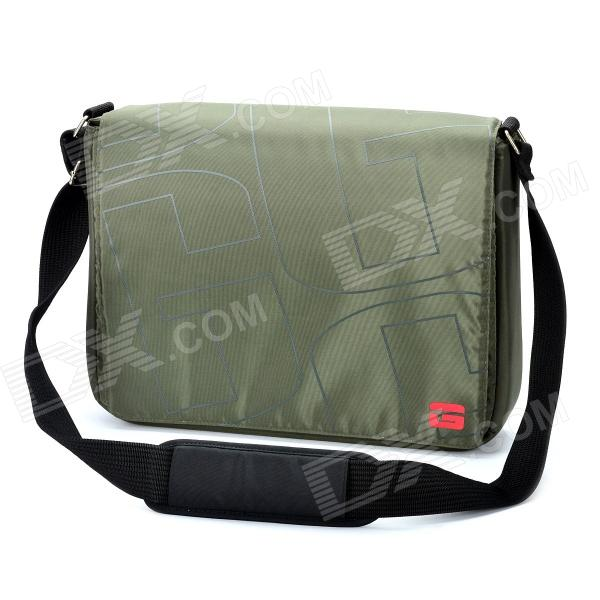 Genuine GOLLA 15.4 Inch Laptop Messenger Bag - Dark Green