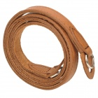 CAM-in Real Leather Sling Shoulder Strap for Camera - Brown