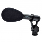 SHENGGU SG100C Professional Shotgun Microphone for Camcorder - Black (XLR-Plug)