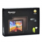 "Newsmy P9 8"" capacitivo Android 2.3 Tablet w / WiFi / G-Sensor / cámara / TF - Negro (1,2 GHz / 8 GB)"