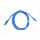 USB3.0 Male to Female Extension Cable - Blue