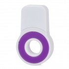 Round Style USB2.0 MicroSD / TF Card Reader - Purple + White (8GB)