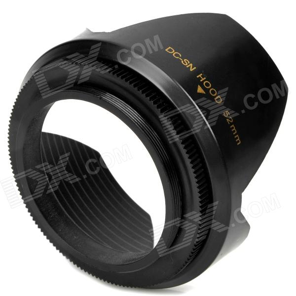 52mm Lens Hood for Canon / Nikon - Black