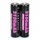 Soshine 18650 3.7V 3100mAh Rechargeable Li-ion Batteries with PCB Protection(Pair)