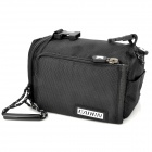 Universal 3-in-1 Camera Bag with Sling Strap + Hand Strap for MILC Camera - Black