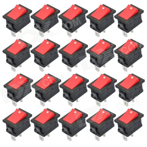 DIY 2-Pin Rocker Switch Set (20-Piece Pack)