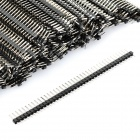 Single Row 40-Pin 2.54mm Pitch Pin Headers (200-Piece Pack)