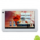 "Ramos W6HD 7"" Capacitive Android 4.0 Tablet w/ WiFi / G-Sensor / HDMI / TF - White (1GHz / 8GB)"
