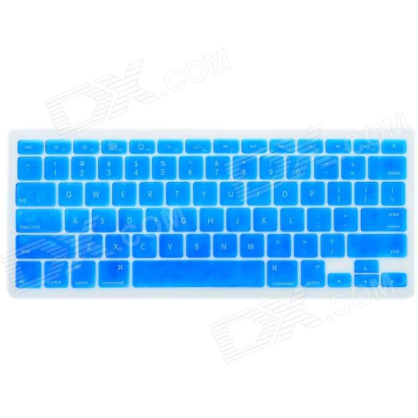 Protective Silicone Keyboard Cover Skin Protector Guard for Apple Macbook Pro 13.3'' / 15.4'' - Blue