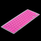 "Protective Silicone Keyboard Cover Skin Protector for MacBook 13.3"" & 15.4'' Laptops - Deep Pink"