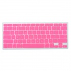"Protective Silicone Keyboard Cover Skin Protector Guard for MacBook 13.3"" & 15.4'' Laptops - Pink"