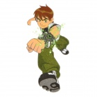 DIY T-Shirt Iron-On Transfer Sticker - Ben 10