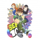 DIY T-Shirt Iron-On Transfer Sticker - Ben 10 4-Figure