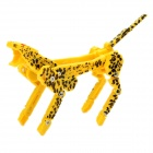 Cool Leopard Transformer USB 2.0 Flash Drive - Yellow + Black (16GB)