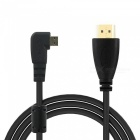 1080p HDMI Male to Micro HDMI Adapter Cable - Black (150cm)