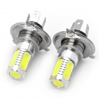 H4 7,5 W 330 ~ 380lm 6500 ~ 7500K 5-LED White Light Car Foglight (Paar)